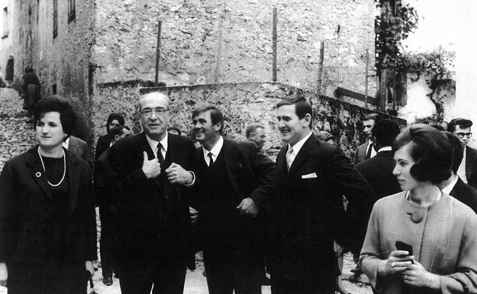 Novello Papafava a Frassanelle negli anni Sessanta (Foto arch. Espen)