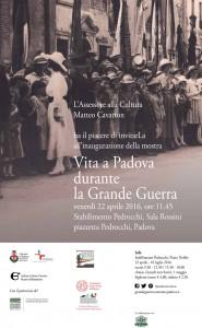 invito-mostra-Vita-Padova-GrandeGuerra