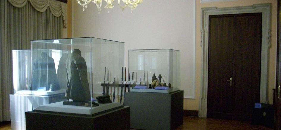Una sala del Museo della Terza Armata